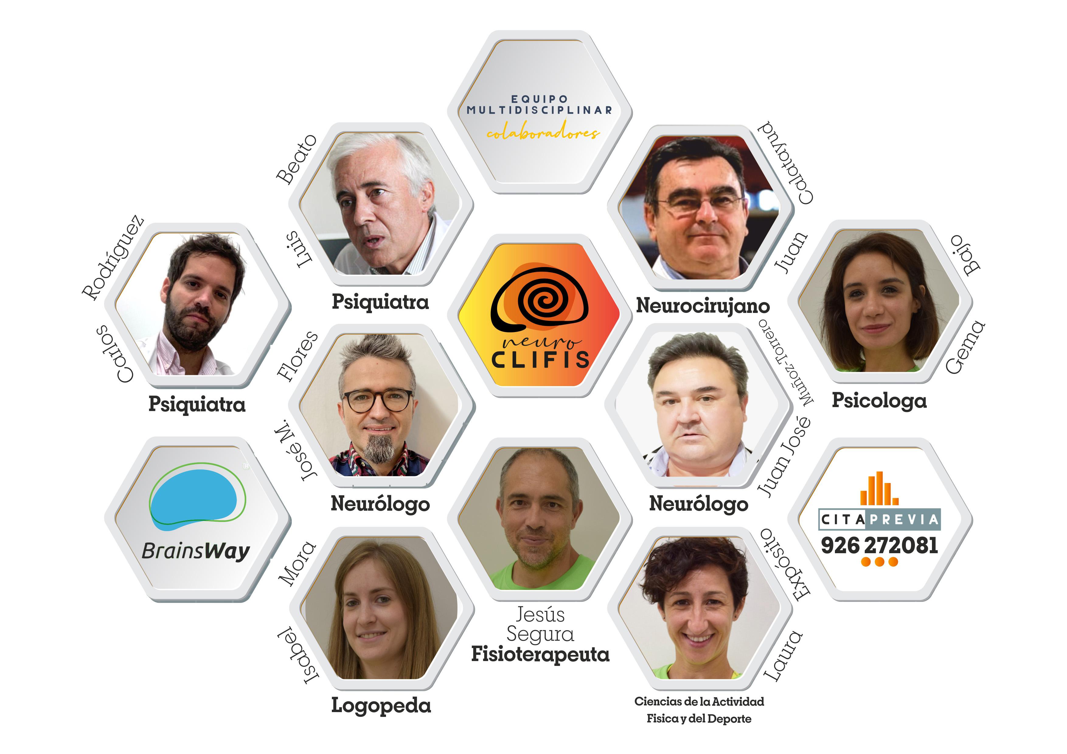 Equipo Multidisciplinar BrainsWay CLIFIS